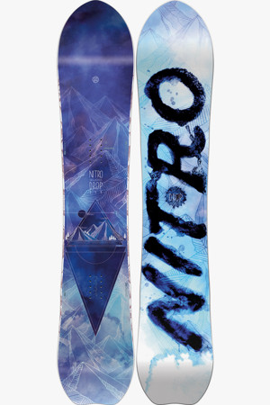 Salomon Wonder Damen Snowboard 1920 in schwarz sichern