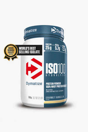 Dymatize Iso 100 Gourmet Vanille 900g Proteinpulver