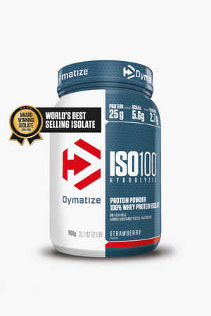 Dymatize Iso 100 Strawberry Blast 900g Proteinpulver