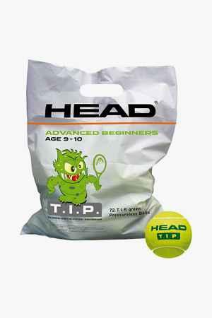 Head 72-Pack T.I.P. Green Kinder Tennisball