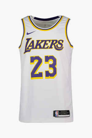 Nike LA Lakers James Lebron Herren Basketballshirt