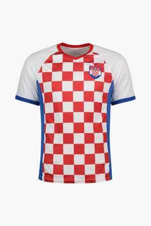 Powerzone Kroatien Fan Herren T-Shirt