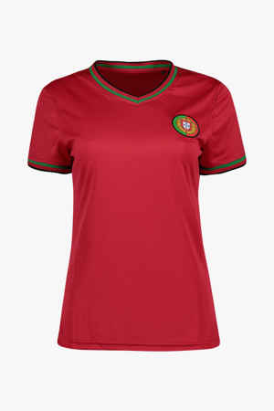 Powerzone Portugal Fan Damen T-Shirt