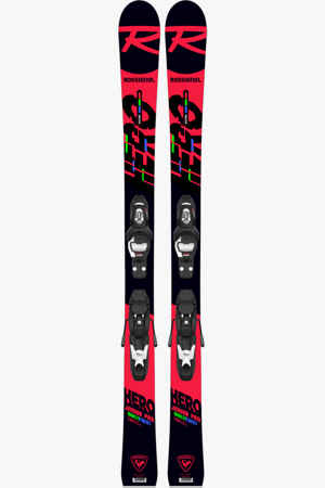 Rossignol Hero Multi-Event 120 cm - 130 cm Kinder Ski Set 20/21