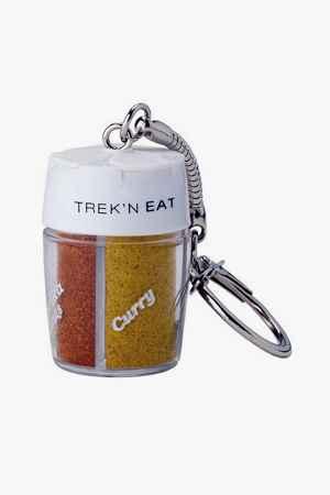 TREK N EAT 4-fach Gewürzstreuer Schlüsselanhänger
