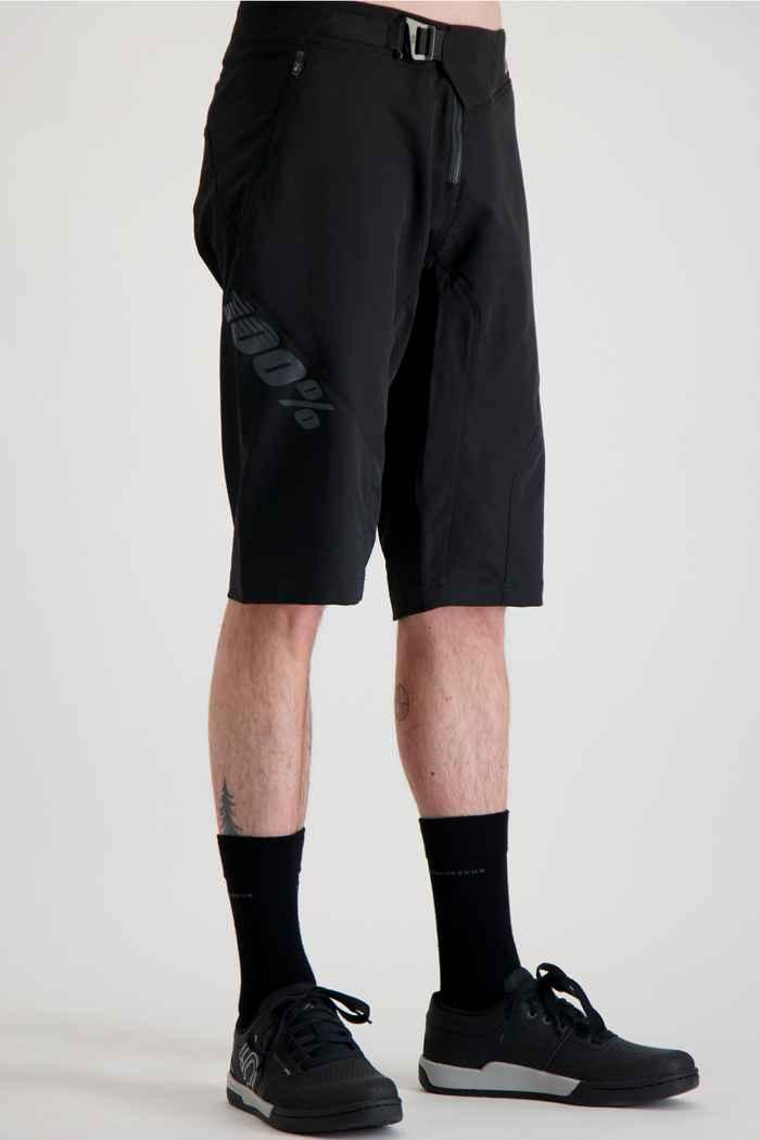 100PERCENT Airmatic Herren Bikeshort Farbe Schwarz 1