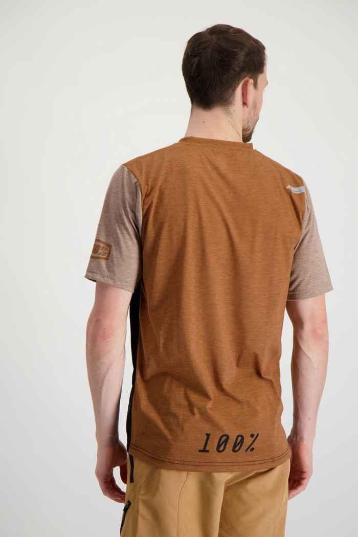 100PERCENT Airmatic Herren Biketrikot Farbe Braun 2