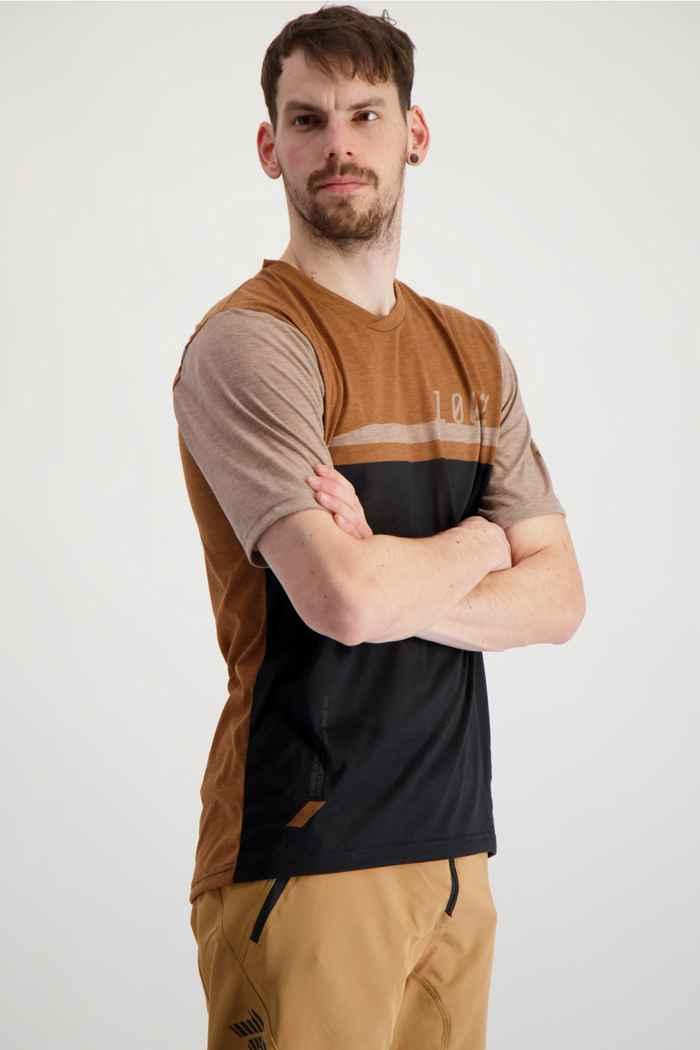 100PERCENT Airmatic maglia da bike uomo Colore Marrone 1