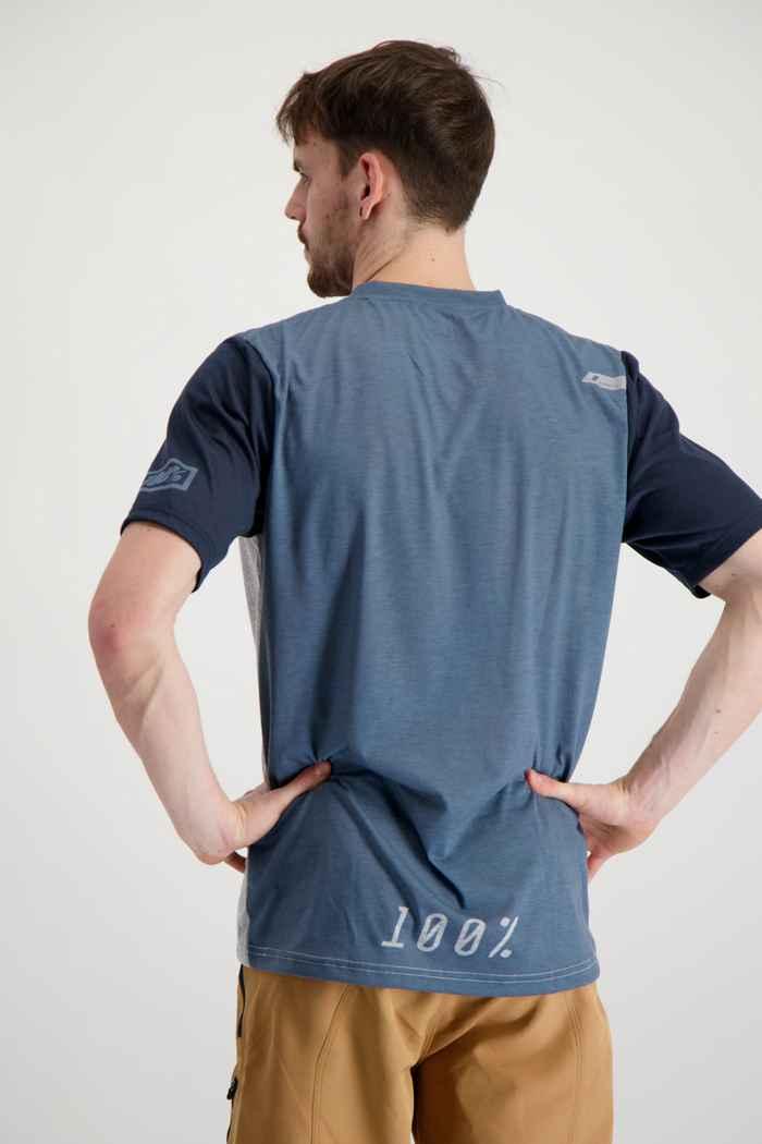 100PERCENT Airmatic maillot de bike hommes Couleur Bleu/gris 2