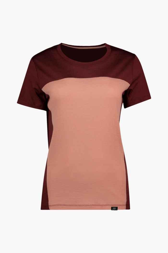 2117 of Sweden Borkhult Merino t-shirt femmes 1