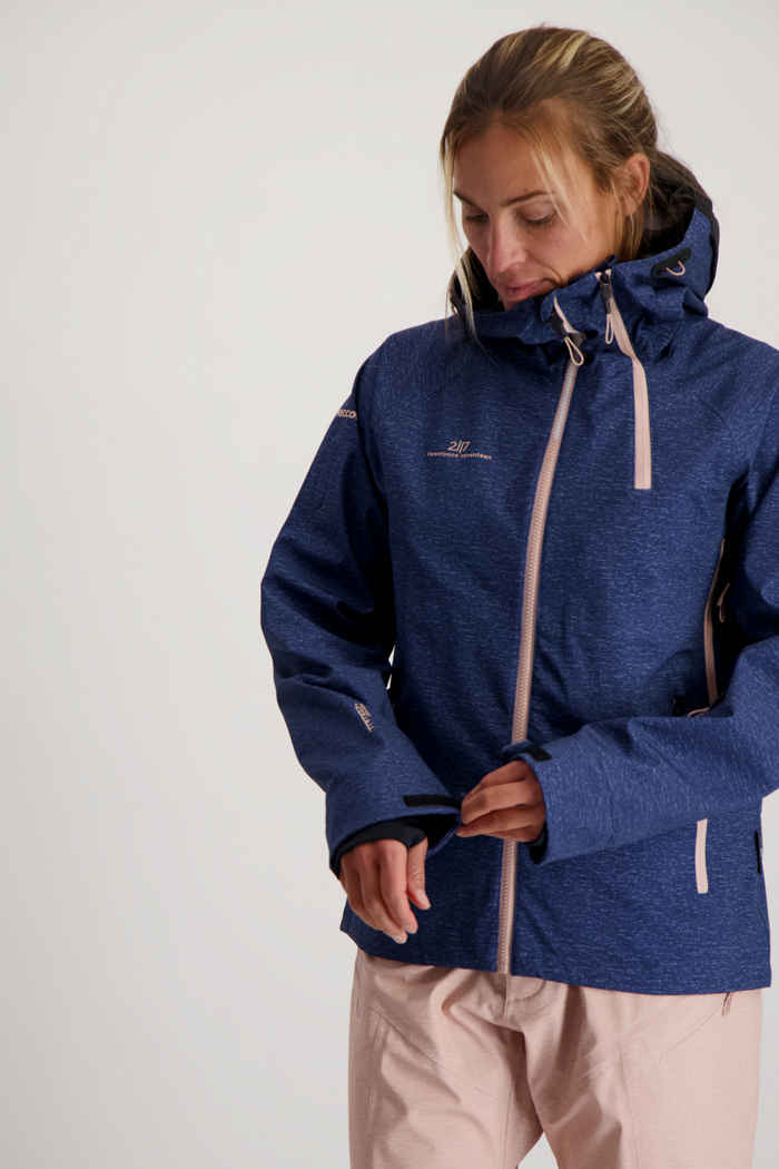 2117 of Sweden Ullvi Eco 3L veste de ski femmes Couleur Bleu 1
