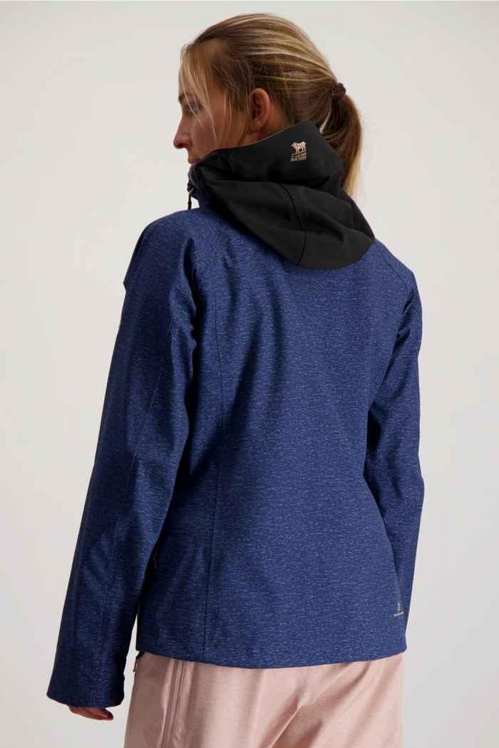 2117 of Sweden Ullvi Eco 3L veste de ski femmes Couleur Bleu 2
