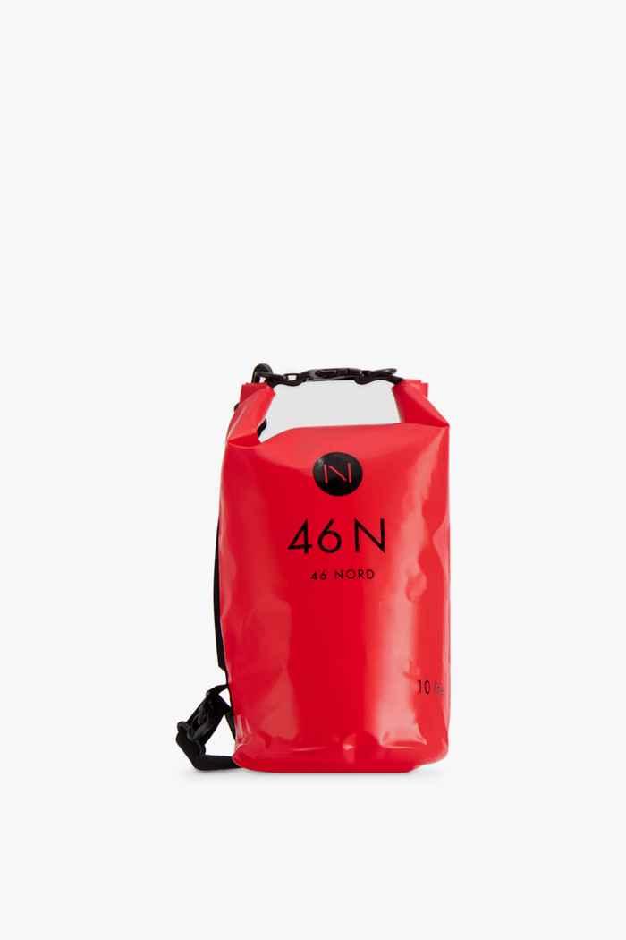 46 Nord 10 L sac de natation Couleur Rouge 1