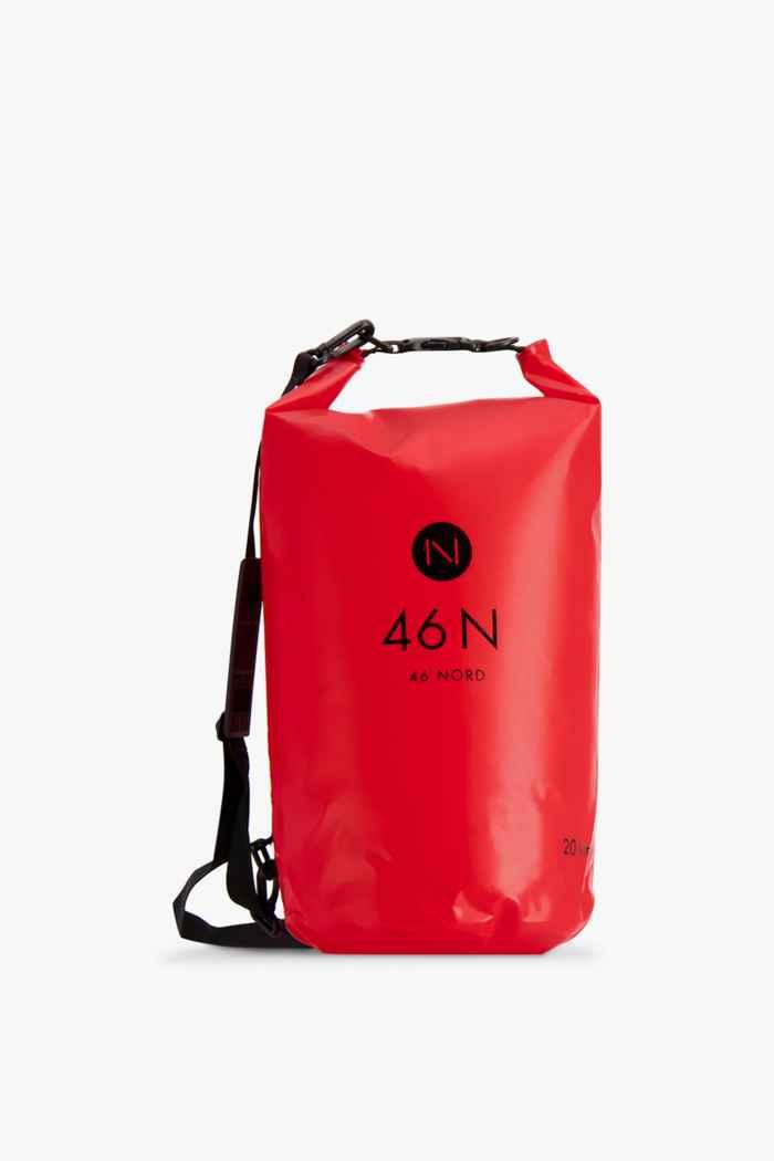 46 Nord 20 L sac de natation Couleur Rouge 1