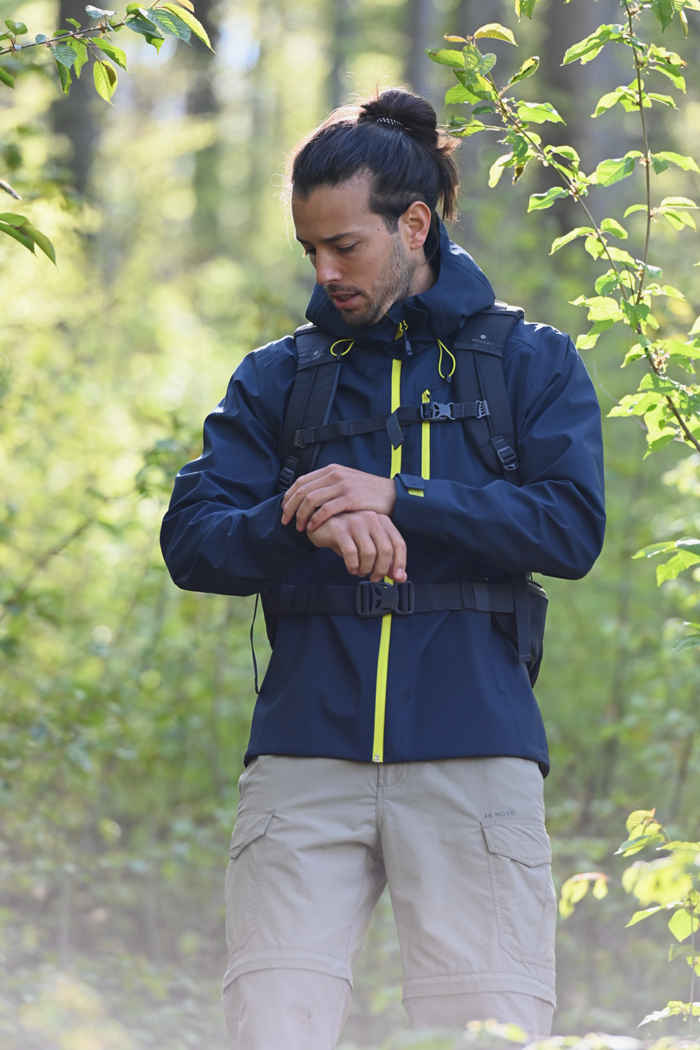 46 Nord 3L giacca outdoor uomo Colore Blu navy 1