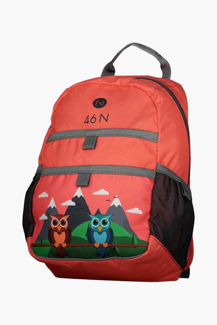 46 Nord 6 L sac à dos de randonnée enfants Couleur Rouge 1