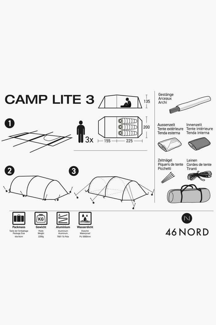 46 Nord Camp Lite 3 tenda 2