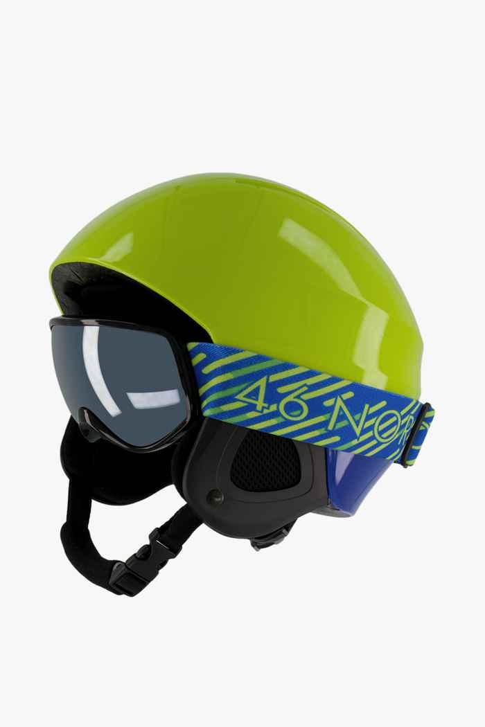 46 Nord casque de ski + masque enfants Couleur Vert 1