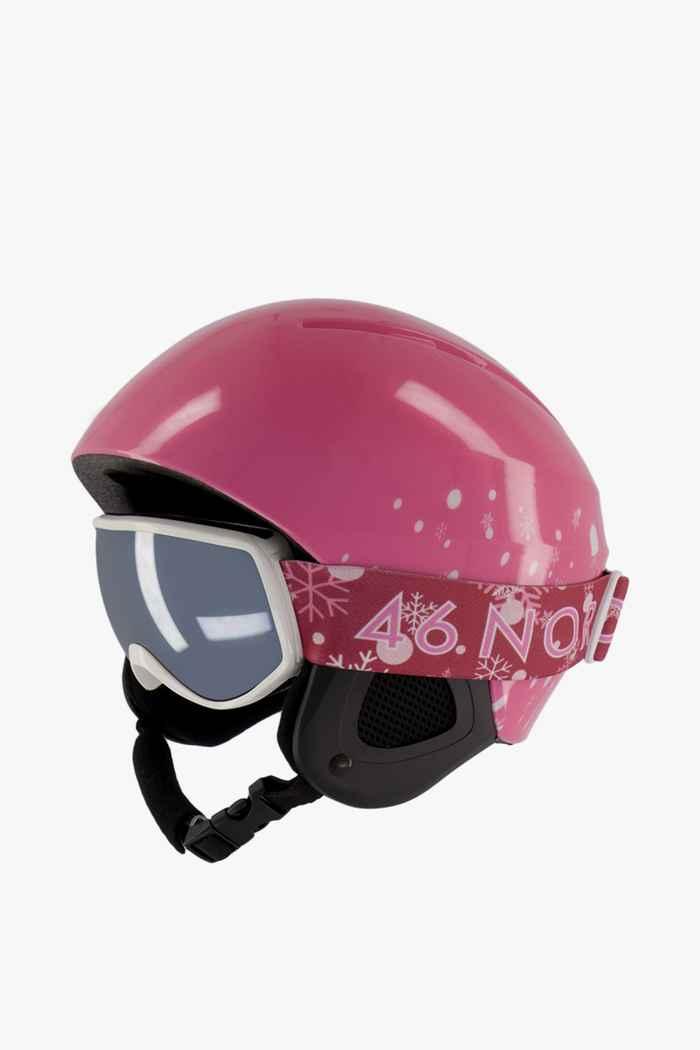 46 Nord casque de ski + masque filles Couleur Rose vif 1