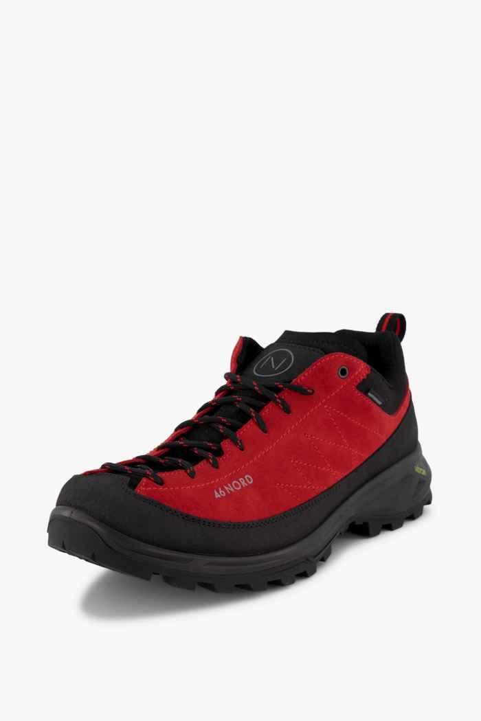 46 Nord chaussures de trekking hommes Couleur Noir/rouge 1