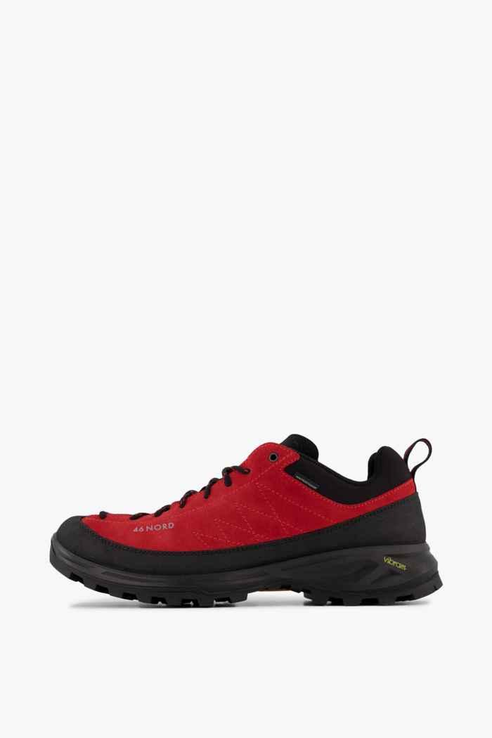 46 Nord chaussures de trekking hommes Couleur Noir/rouge 2