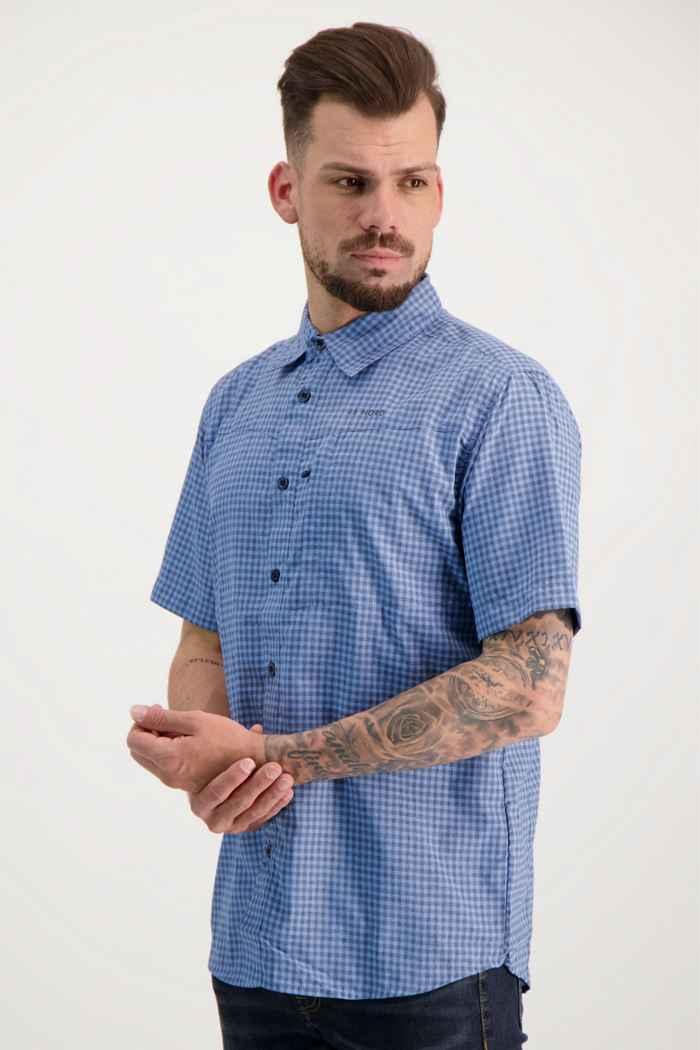46 Nord chemise de randonnée hommes Couleur Bleu 1