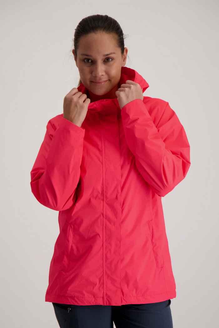 46 Nord Damen Regenjacke Farbe Pink 1