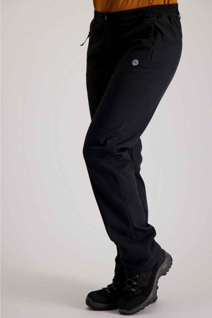 46 Nord Damen Wanderhose Farbe Schwarz 1