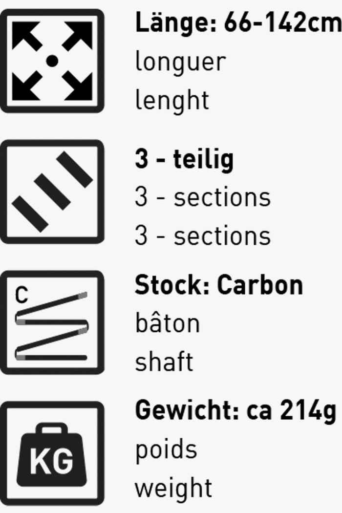 46 Nord Denali Carbon bastone da trekking 2