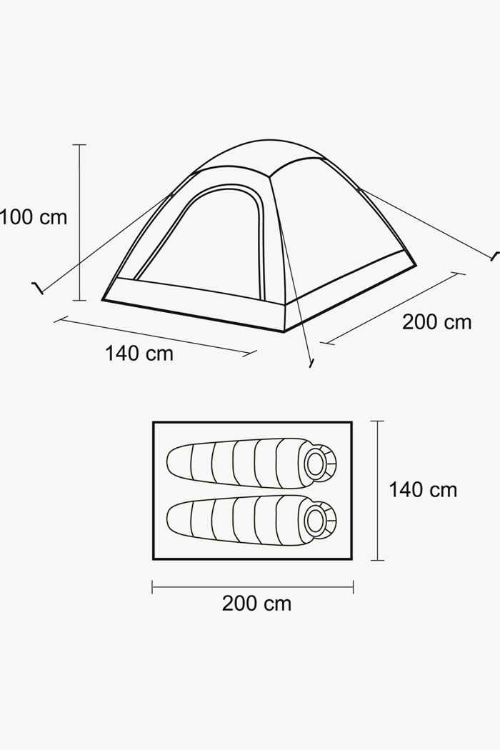 46 Nord Dome 2 Zelt 2