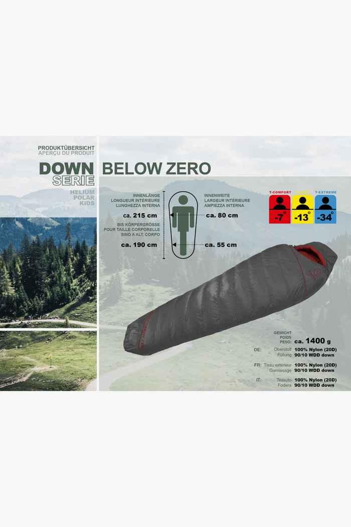 46 Nord Down Below Zero sacco a pelo ZIP L 2