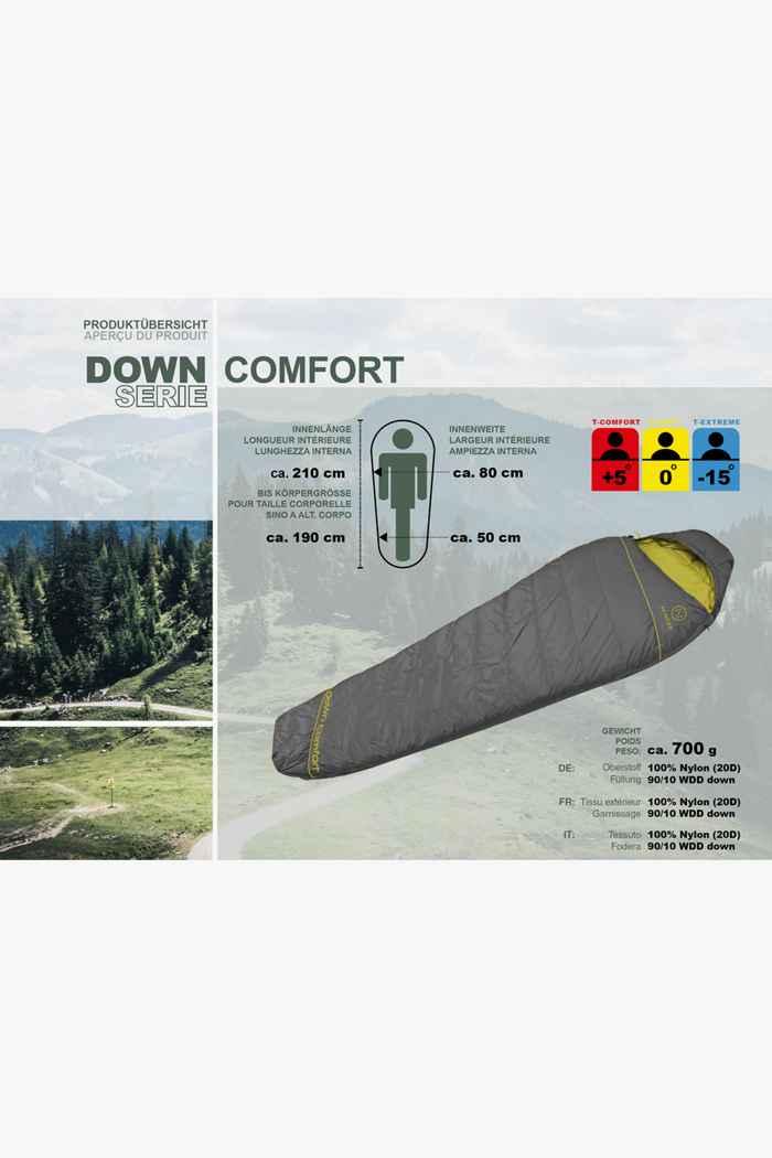 46 Nord Down Comfort Schlafsack ZIP L 2