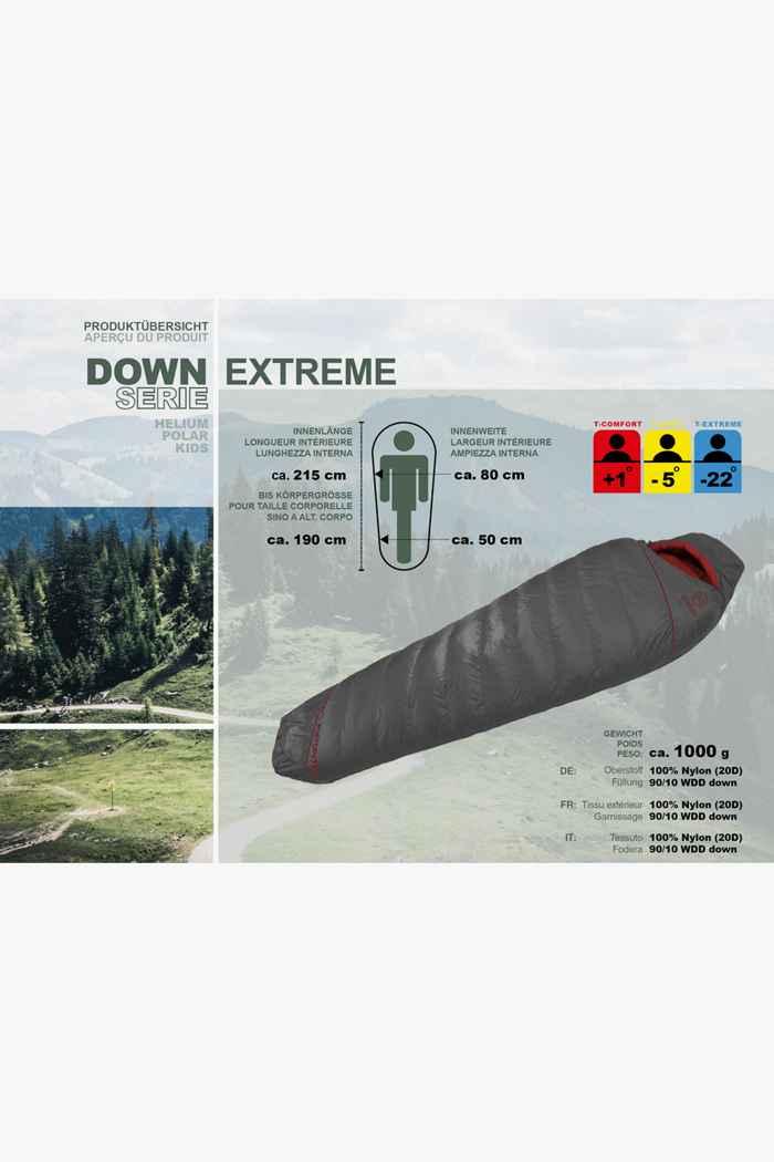 46 Nord Down Extreme Schlafsack ZIP L 2