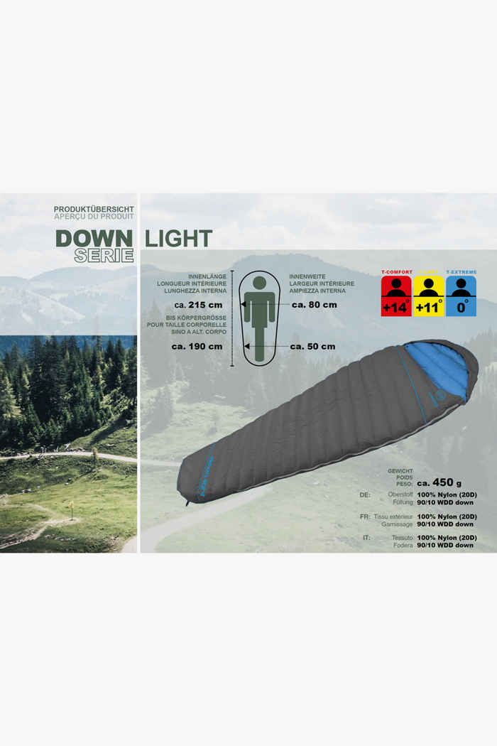 46 Nord Down Light sac de couchage ZIP L 2