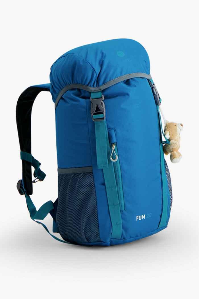 46 Nord Fun 20 L sac à dos de randonnée enfants Couleur Bleu pétrole 1