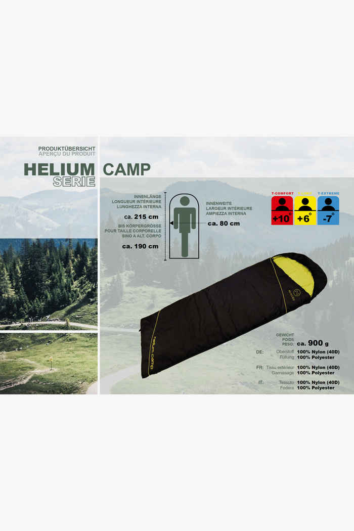 46 Nord Helium Camp Schlafsack 2