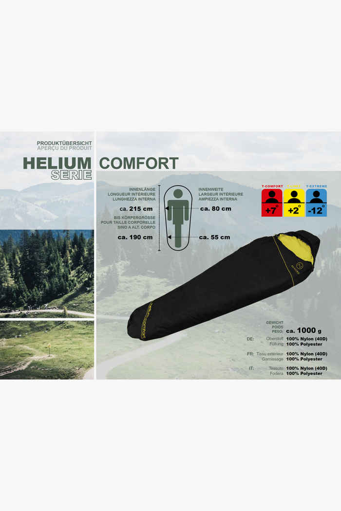 46 Nord Helium Comfort M sacco a pelo ZIP L 2