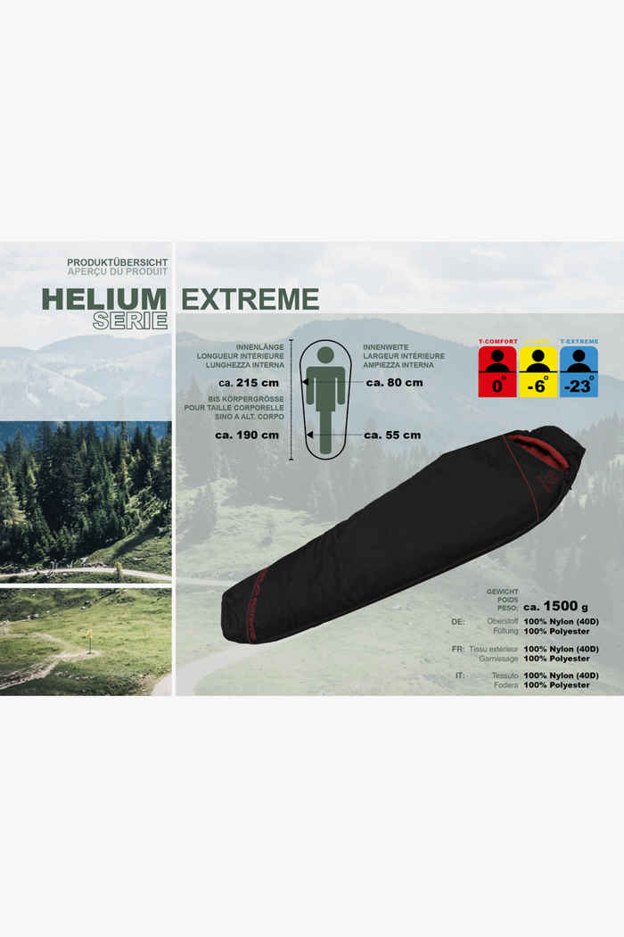 46 Nord Helium Extreme sacco a pelo ZIP L 2