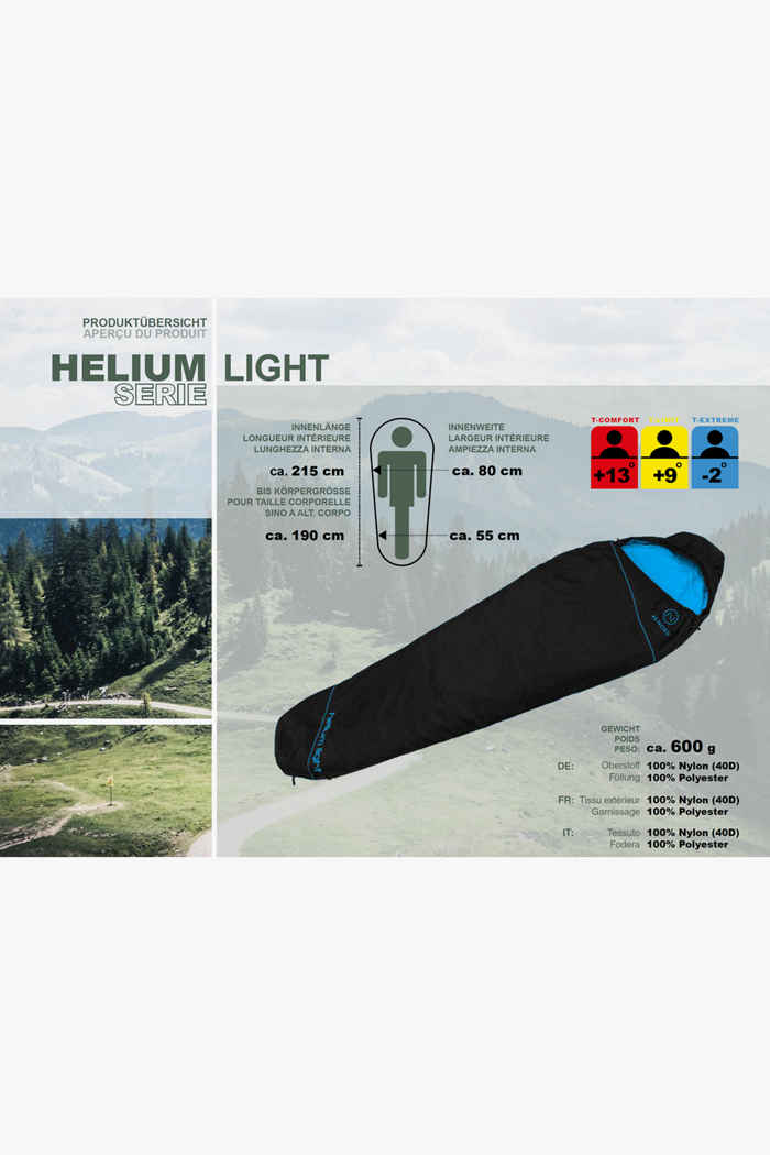 46 Nord Helium Light sac de couchage ZIP L 2