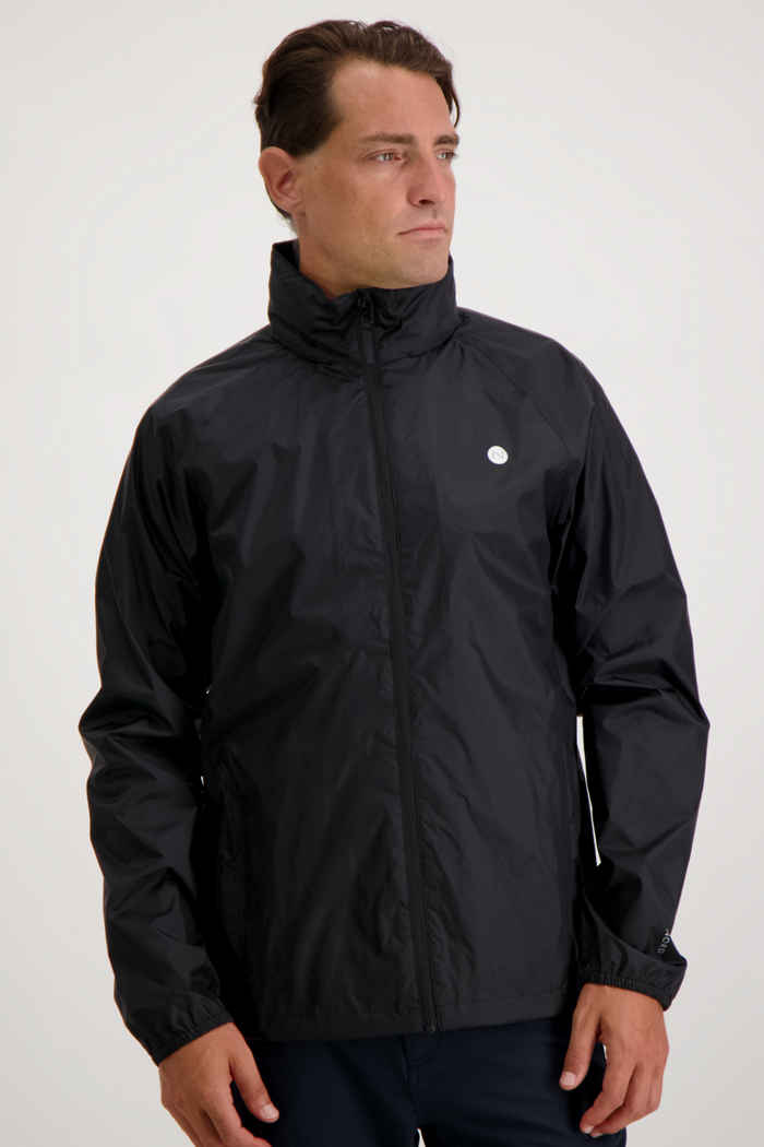 46 Nord Herren Regenjacke Farbe Schwarz 1