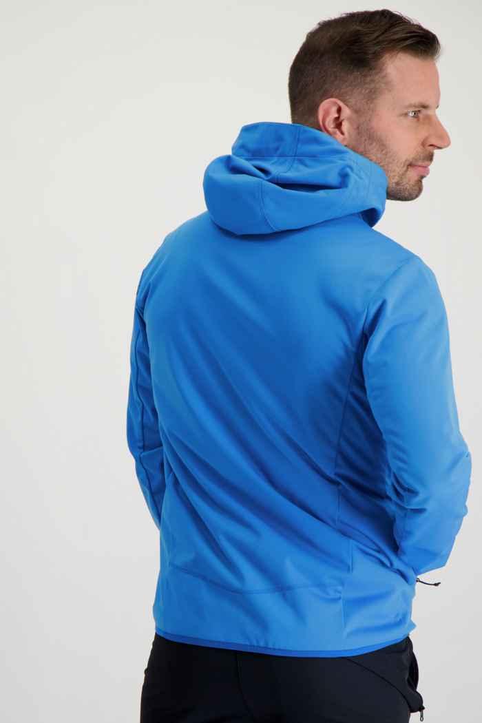 46 Nord Herren Softshelljacke Farbe Blau 2
