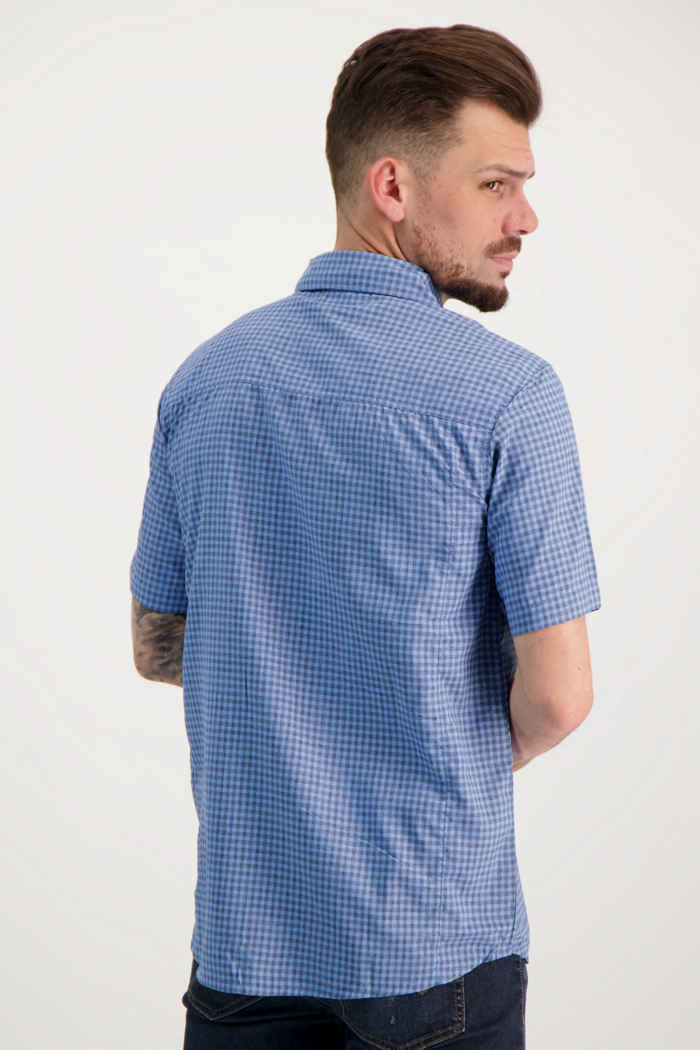 46 Nord Herren Wanderhemd Farbe Blau 2