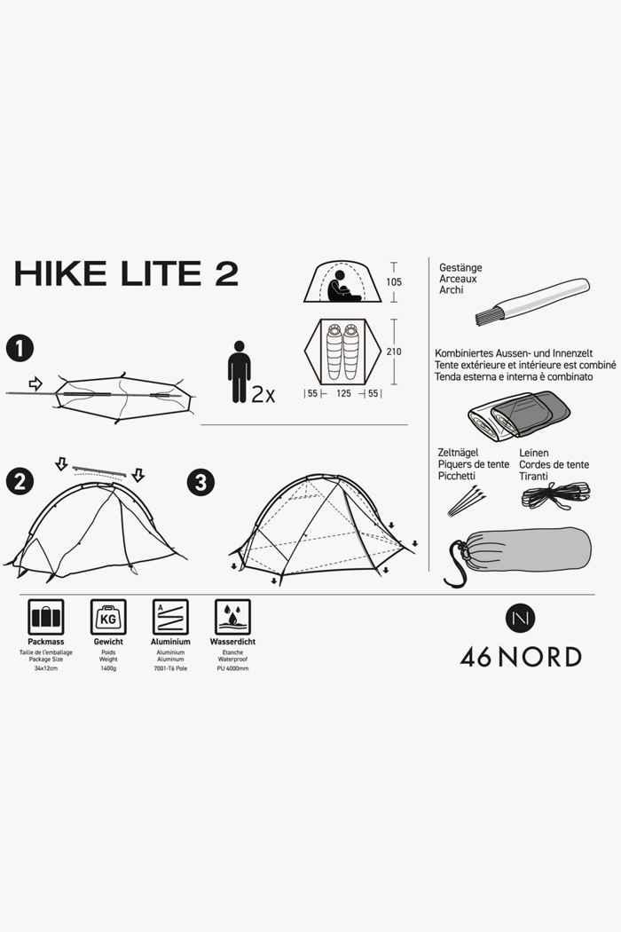 46 Nord Hike Lite 2 Zelt 2
