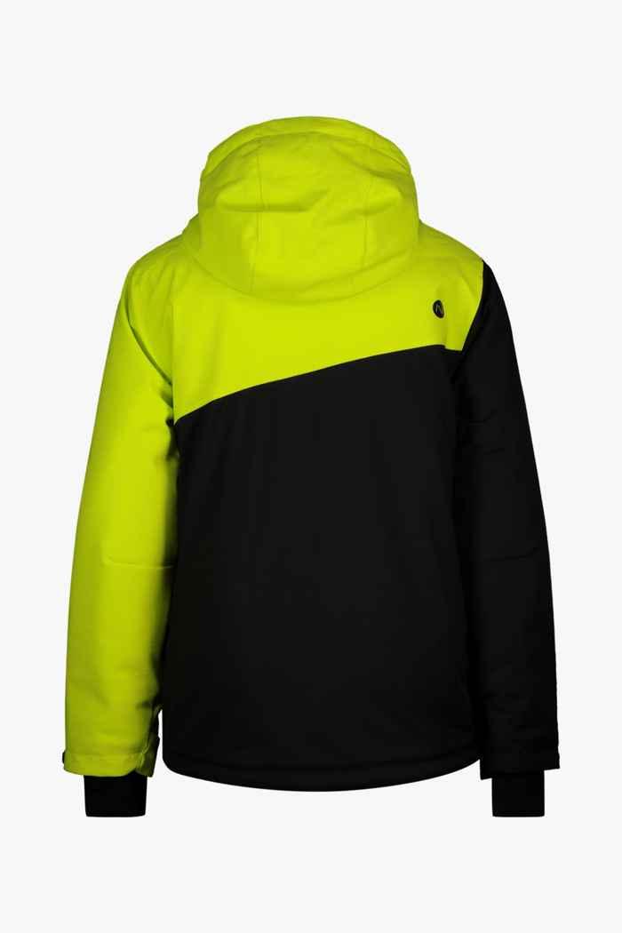 46 Nord Jungen Skijacke Farbe Schwarz-grün 2