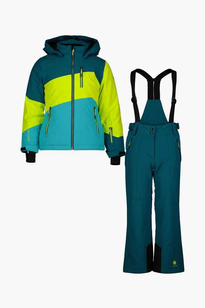 46 Nord Mädchen Skianzug Farbe Türkis 1