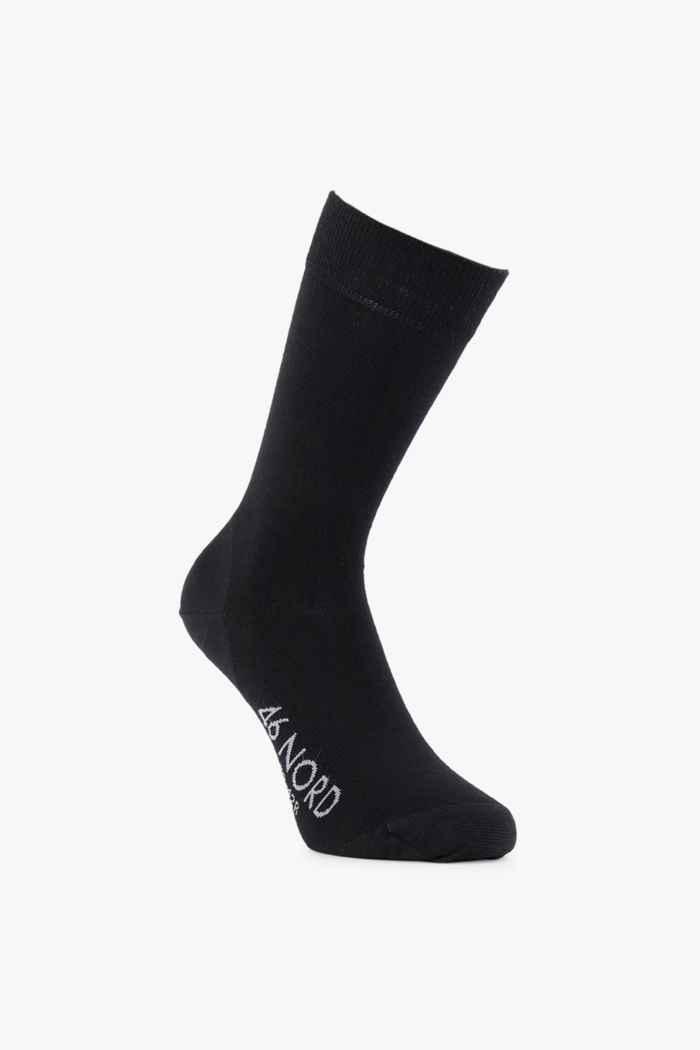 46 Nord Merino 35-46 calze Colore Nero 2