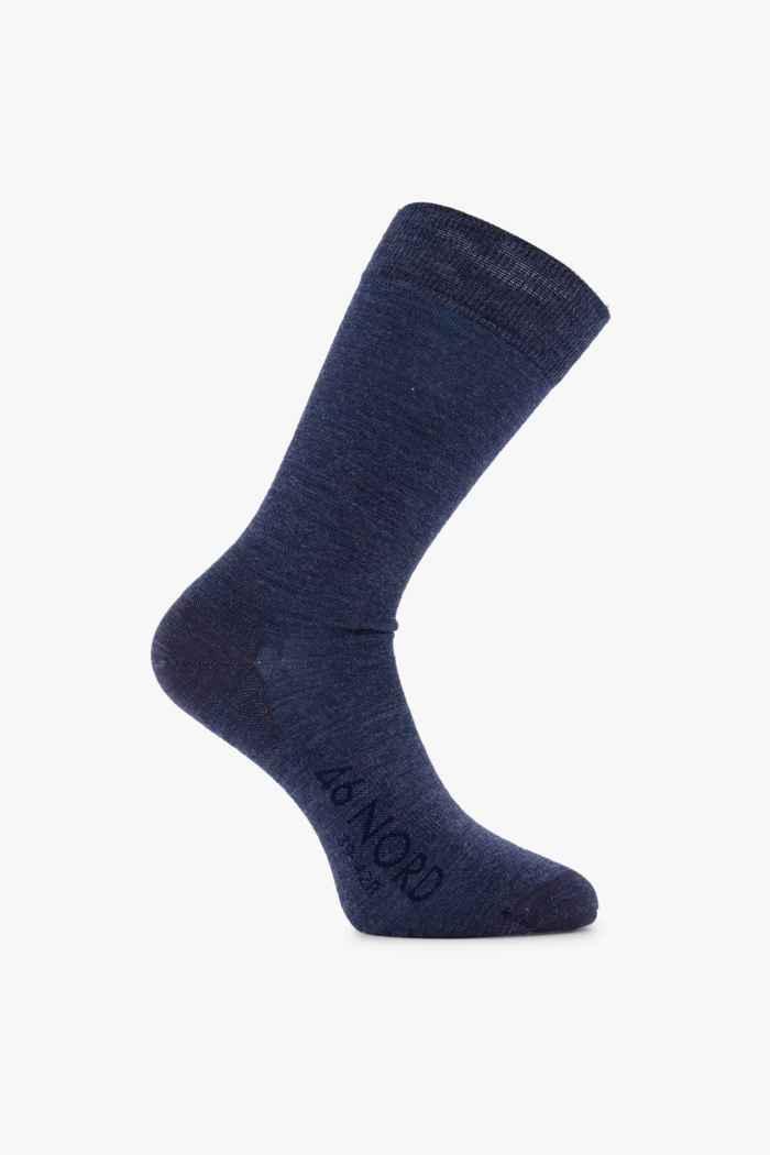 46 Nord Merino 35-46 chaussettes Couleur Bleu navy 1