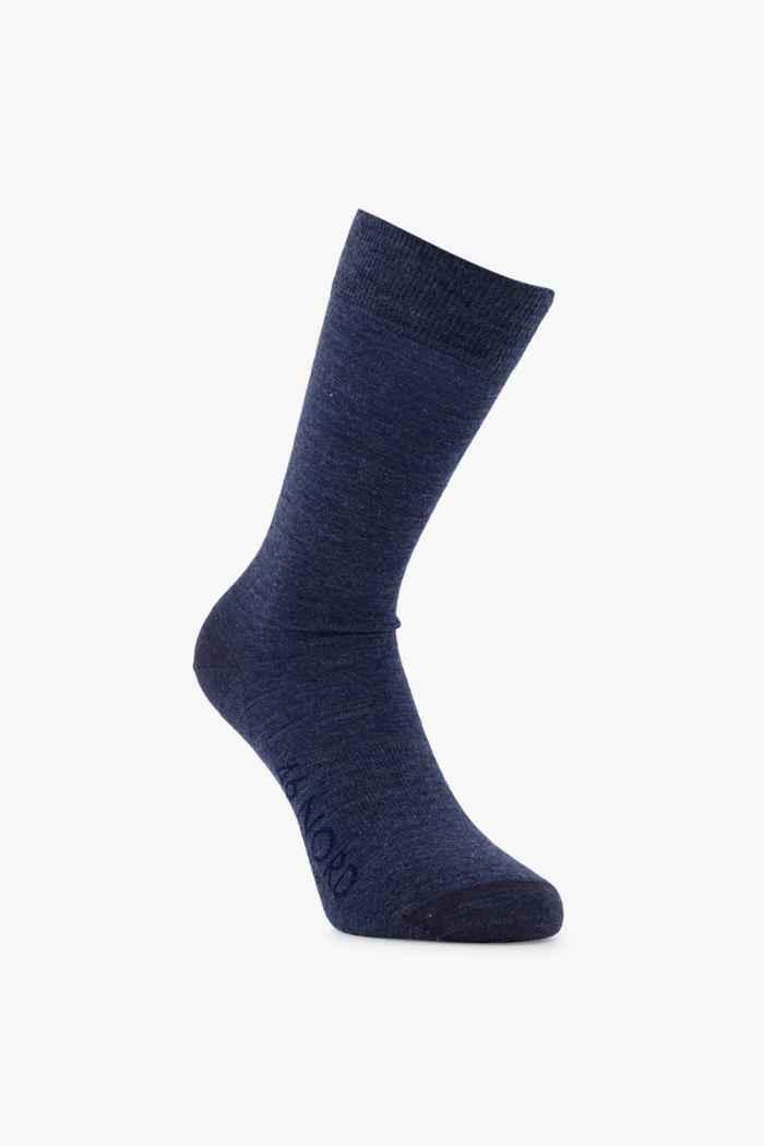 46 Nord Merino 35-46 chaussettes Couleur Bleu navy 2