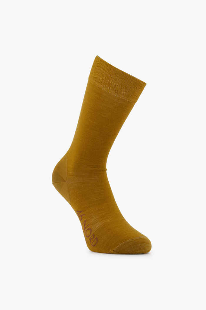 46 Nord Merino 35-46 chaussettes Couleur Curry 2