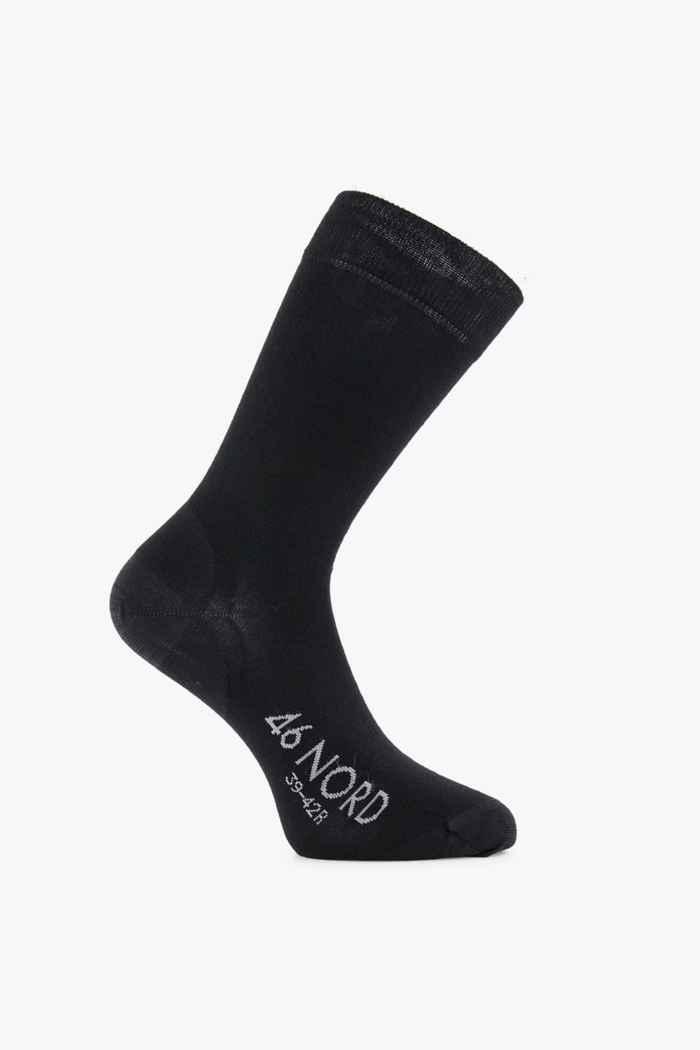 46 Nord Merino 35-46 chaussettes Couleur Noir 1